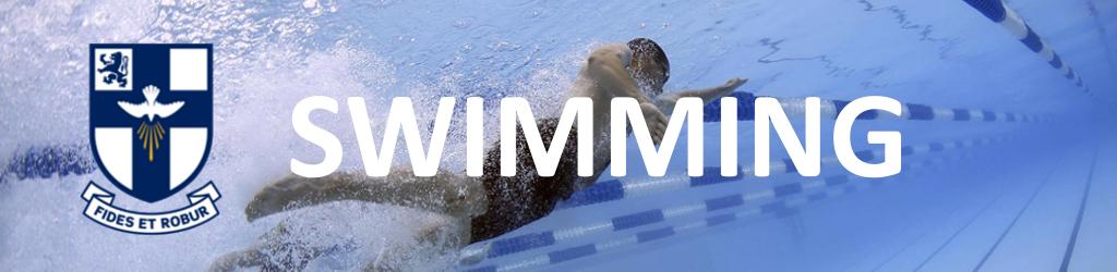 Banner - swimming
