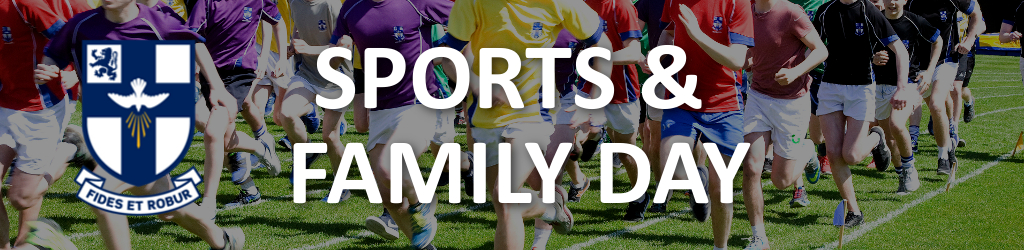 Sports and Family Day Banner