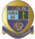Dublin Lourdes Pilgrimage badge