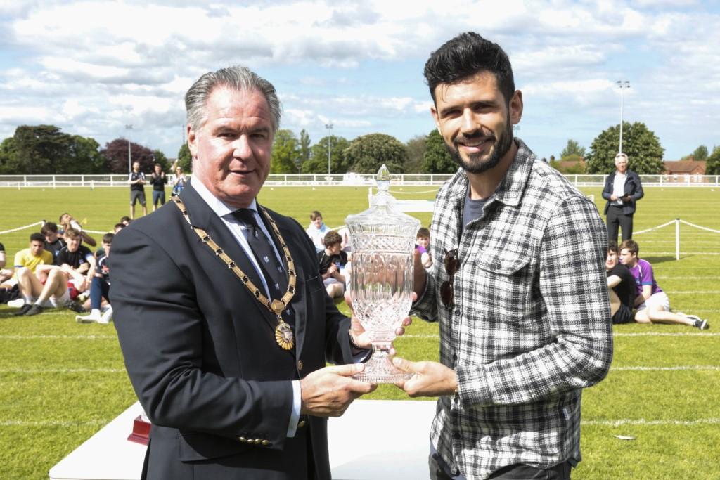 Sports Day 2018 Dublin G.A.A. Player Cian O'Sullivan