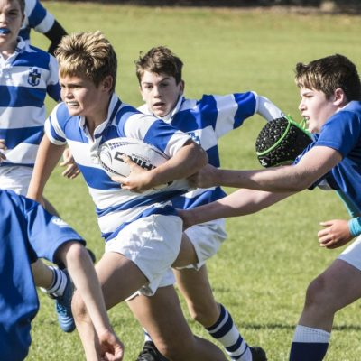 2018-09-29 Rugby - U14As & U14Cs v St Marys (20)