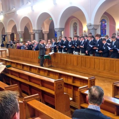 2019-10-04 Music - Choir in Kimmage (3)