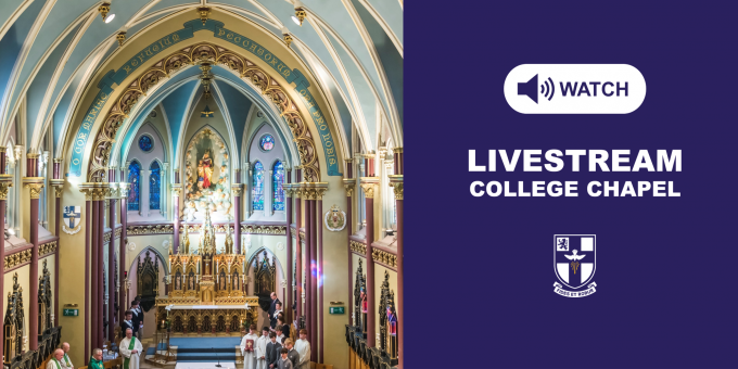 Livestream College Chapel Homepage Button